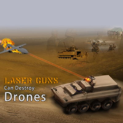New Laser Gun can destroy Drones