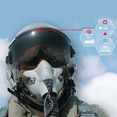 This new helmet can monitor pilots' health and save their lives