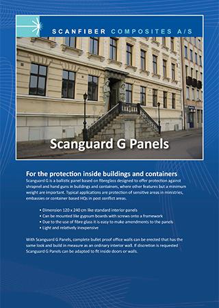 Scanguard G Panels