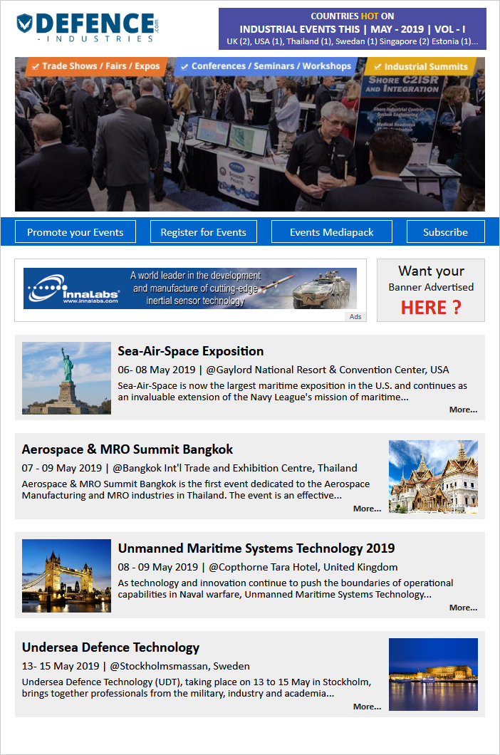 May-19 Event Newsletter Vol-1