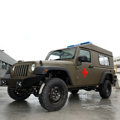 Military Ambulance Jeep