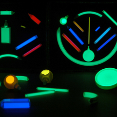 Self-Illuminated Post Markers
