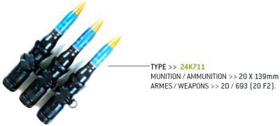 Belt Links for Grenade Launcher
