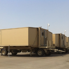 Expandable Military Shelters