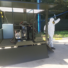 RELIDE CBRN Rapid Deployment Decon System