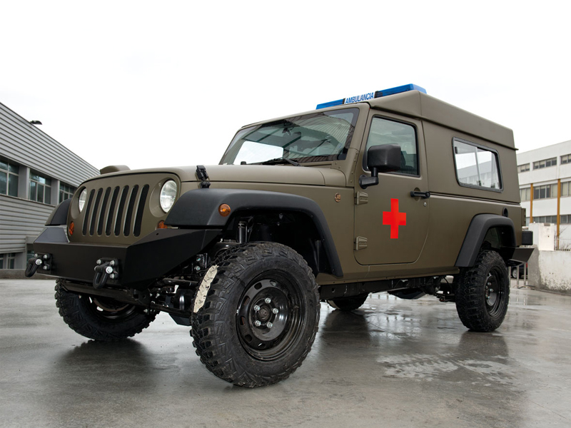 Military Ambulance Jeep