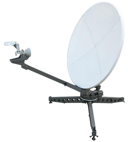 1-2 Meter Motorized Flyaway Antenna