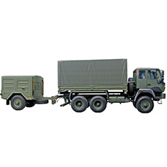 Rough Terrain Container Transport Set