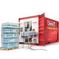 Mobile Water Bottling Plant
