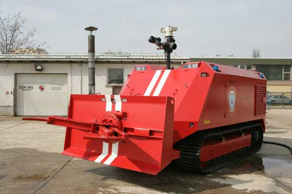 Heavy Fire Fighting System