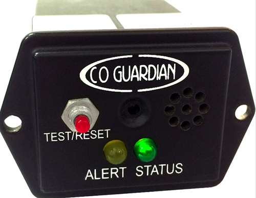 353D-101 Panel Mount CO Detector