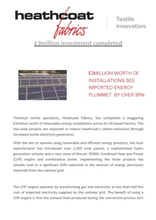 e3Million worth of installations see imported energy plummet by over 50%