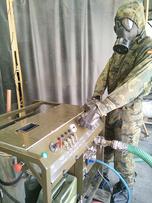 ATILA Decontamination Equipment