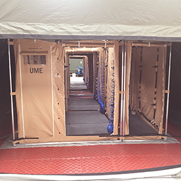 Decontamination Tent EDEM Personnel