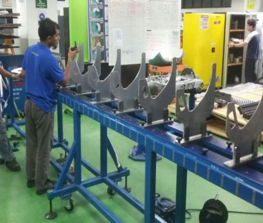 Inspection Services for Composite Panel Airbus A350