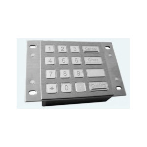 Metal keypads KP900