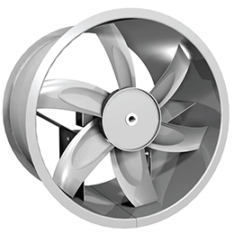 propeller inline tube axial fans