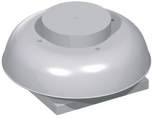 Rebel: Direct drive propeller roof fans