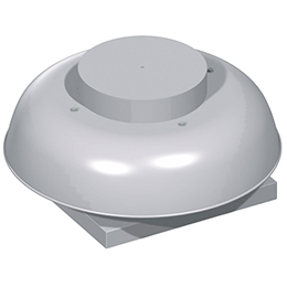rebel direct drive propeller roof fans