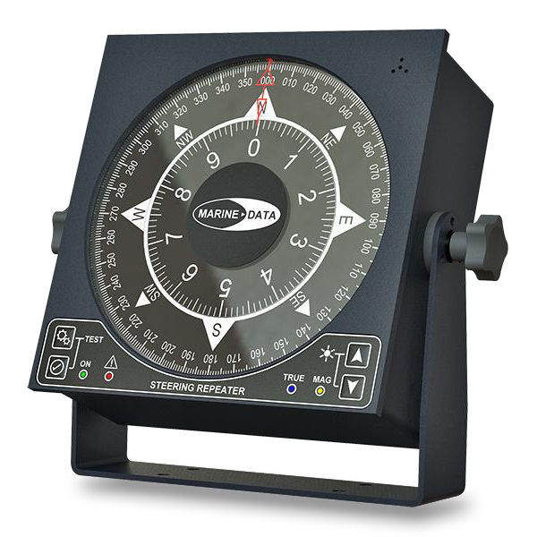 Large Dual Scale Steering Repeater Display (MD68HR)