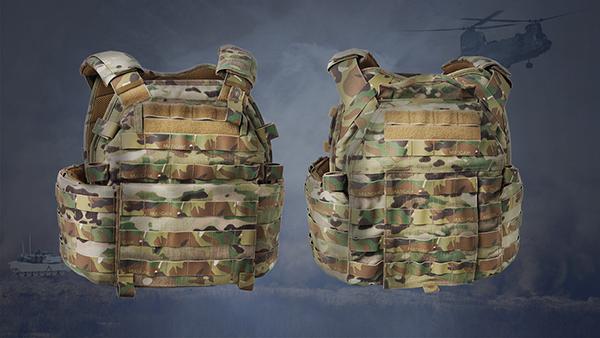 JUPITER Enhanced Tactical QR Plate Carrier