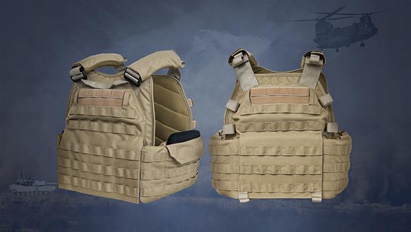 TERVEL Enhanced Tactical Plate Carrier