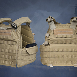 TERVEL Enhanced Tactical Plate Carrier