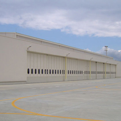 Airplane Hangar Doors