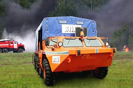 All-Terrain Amphibious Vehicle