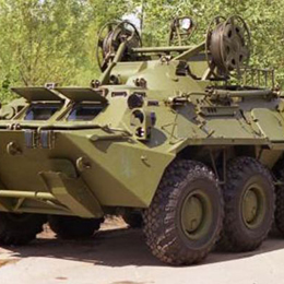 BREMK Wheeled Amphibious Armoured Recovery Vehicles