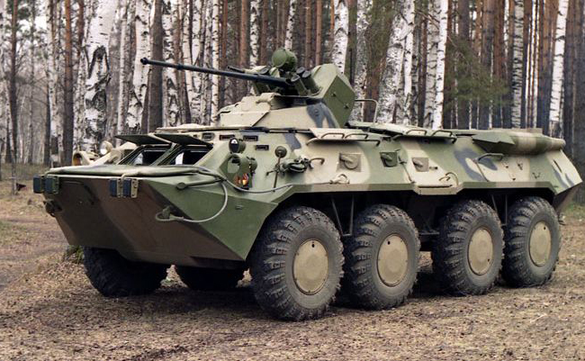 BTR-80A Armoured Personnel Carrier