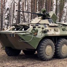 BTR80A Armoured Personnel Carrier