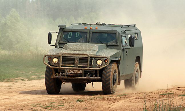 TIGR SBM VPK-233136 special armored vehicle