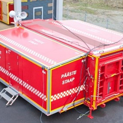 Rescue Command and Control Shelter