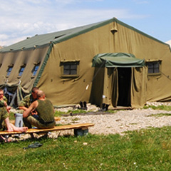 Army tents