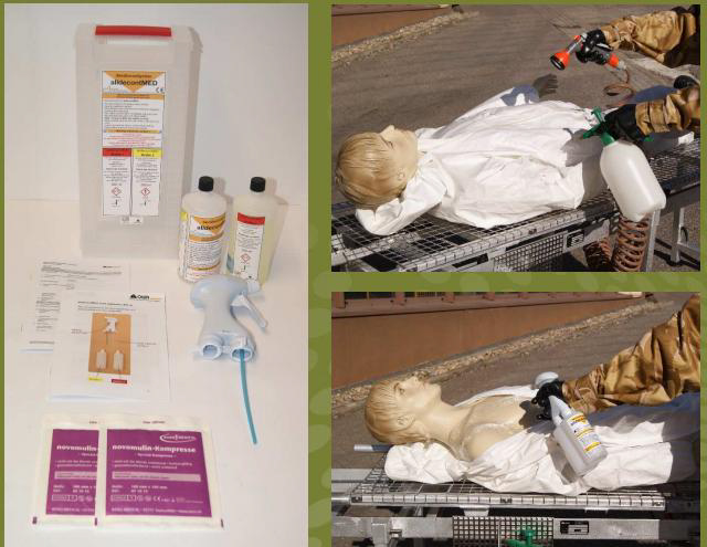 Casualty decon alldecontMED