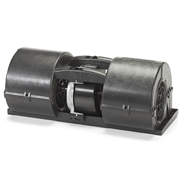 twin centrifugal automotive blowers