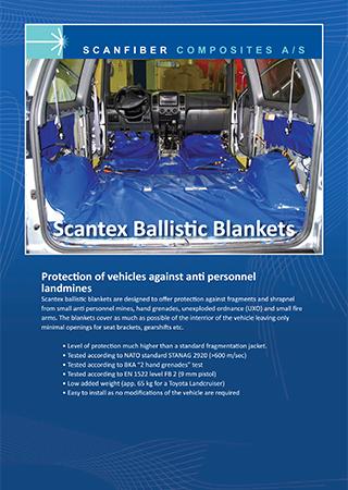 Scantex Ballistic Blankets