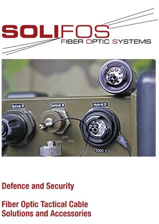 Solifos-Fiber Optic Tactical Cable