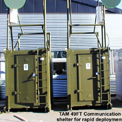 TAM-49FT Mobile Communication Shelter