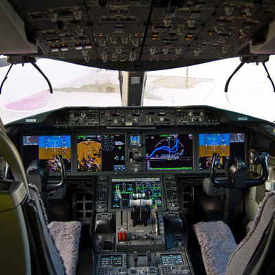 Woodward Flight Deck Controls Suite