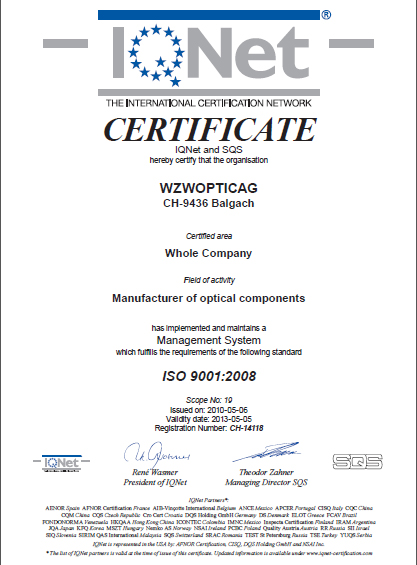 Optic Ag Certified Company
