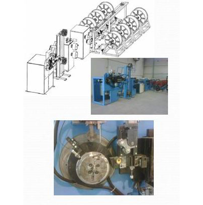 Wire Coating And Winding Machine